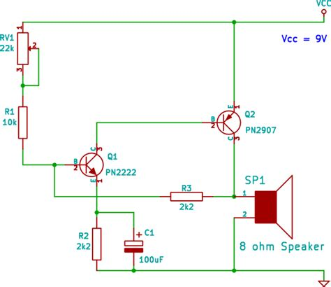 electronic circuit diagram for beginners circuit