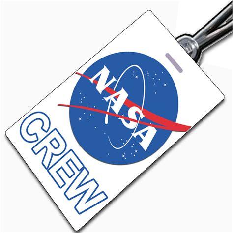 Nasa Id Page 3 Pics About Space Nasa Name Tag Template