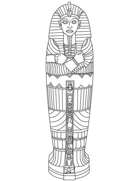 tutankhamun mask template 25 best ideas about king tut sarcophagus on