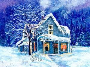 winter homes snowed in houses wallpaper wallpaper wide hd