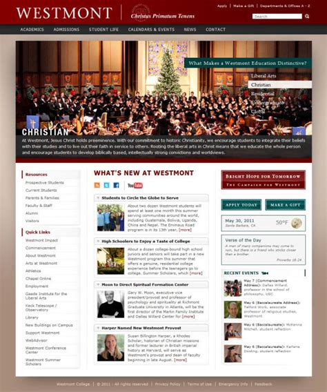 Westmont Mba showcase of beautiful websites hongkiat