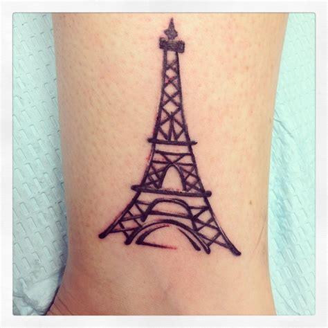 henna tattoo paris eiffel tower on inside of my ankle lust