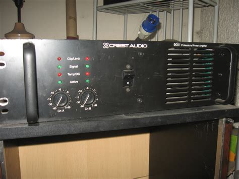 Power Lifier Pl 9001 Crest Audio 9001 Image 185280 Audiofanzine