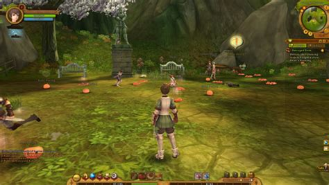 gravity mmo games mmorpg