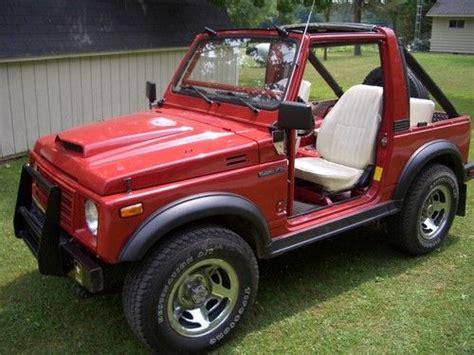 Suzuki Soft Top 4x4 Find Used 1986 Suzuki Samurai 4x4 5 Speed Soft Top