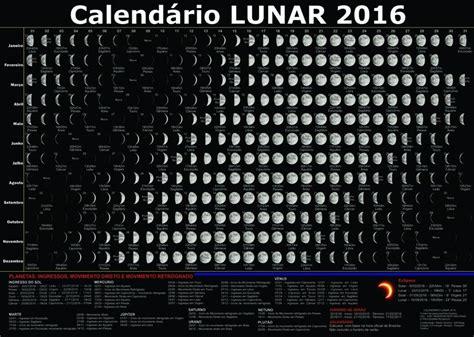 Calendario Lunar 2016 Calendario Lunar 2016