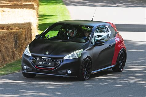 peugeot 208 gti 30th anniversary peugeot 208 gti 30th prices carbuyer