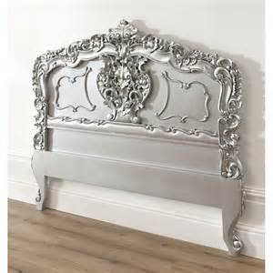 silver rococo antique headboard available now