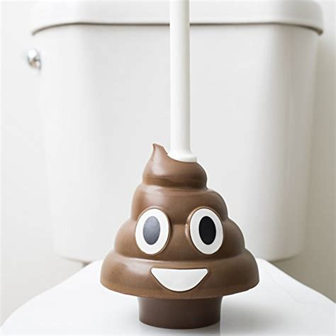 emoji poo plunger didnt know i wanted that