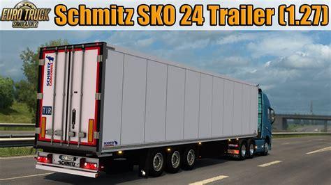 ets schmitz sko  trailer  youtube
