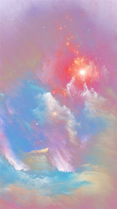 galaxy effect cloud png background