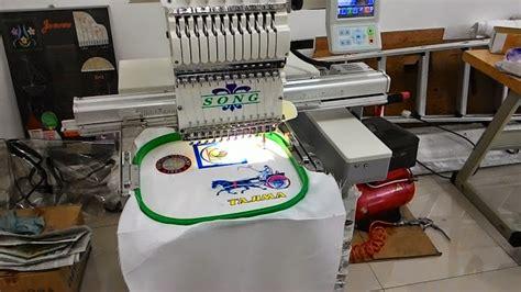 Mesin Bordir 1 mesin bordir komputer mesin bordir komputer 1 kepala