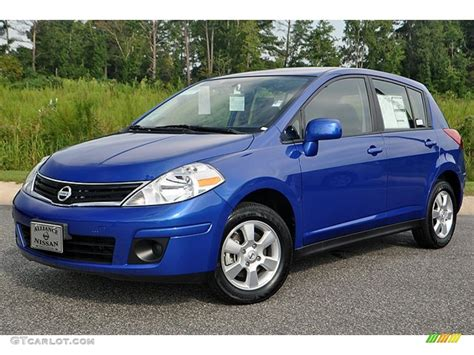 nissan versa dark blue 2012 metallic blue nissan versa 1 8 s hatchback 72102333