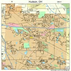 Hudson Ohio Map hudson ohio street map 3936651