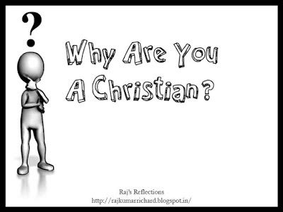 reasoned musings why are you a christian why am i a