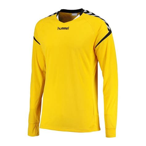 Hummel Ls by Hummel Authentic Charge 2020 Jersey Ls Yellow