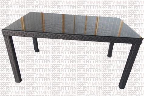 tavolo in rattan sintetico tavolo rattan sintetico esterno nero antracite giardin0