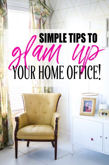 glam work spaces that will make you want to get your work 10 easy ways to glam up your home office