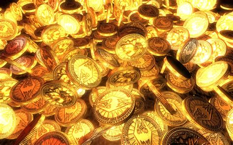 wallpaper of gold coins gold coins texture gold gold golden background
