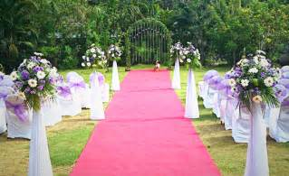 stunning outdoor wedding venues by event planners