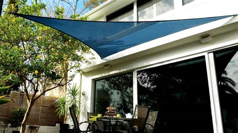 Coolaroo Shade Sail Installation Overview   YouTube