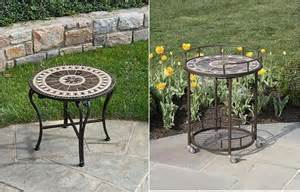 Small Outdoor Bistro Table Marble And Mosaic Combination For Outdoor Furniture Furniture Arcade House Furniture Living