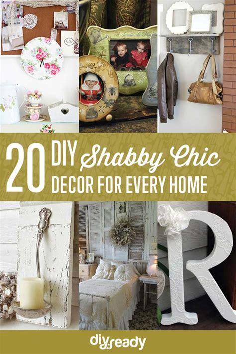 diy craft ideas for you 20 diy shabby chic decor ideas