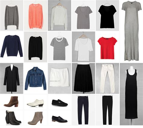 Wardrobe Capsule Exles by Building A Capsule Wardrobe From Scratch An Exle