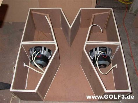 Subwoofer Selber Bauen Auto by Subwoofer Geh 228 Use Selbst Bauen Golf3 De