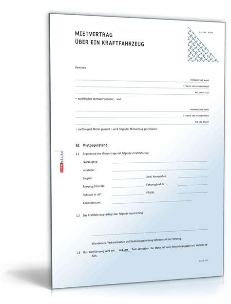 nutzungsvertrag wohnung 252 bergabeprotokoll pkw muster kostenlos krafthand