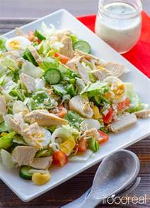 salad recipe healthy chef salad recipe ifoodreal