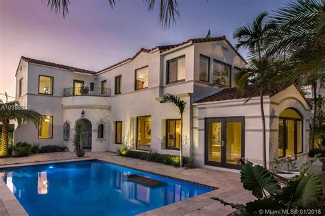 the best priced miami mediterranean style houses