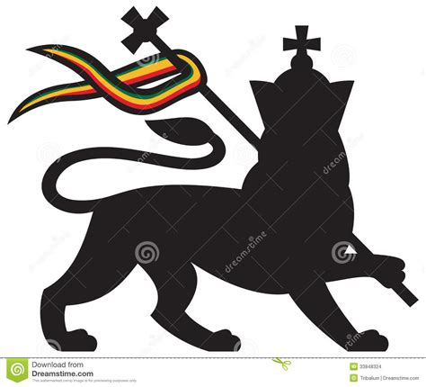 lion stock photo image of america cross afro lion