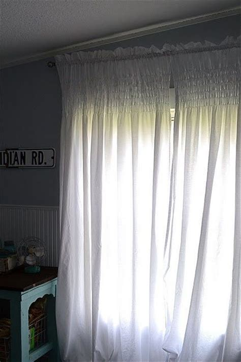 shirred curtains shirred on curtains myideasbedroom com