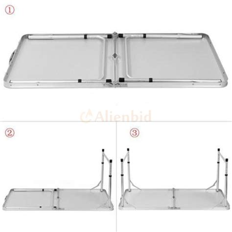 3 Foot Folding Table Folding Table Portable Outdoor Picnic Dining C Tables 3ft L X 2ft W Ebay