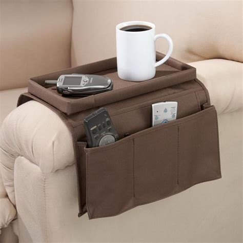 armchair caddy storage armchair caddy chair organizer armchair tray easy
