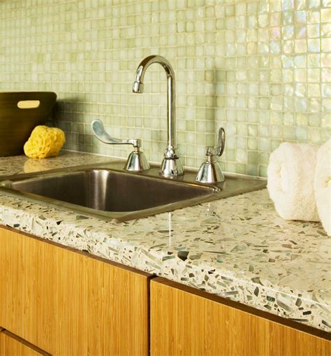 Solid Glass Countertops by Colorado Countertops Recycled Glass Countertops Denver