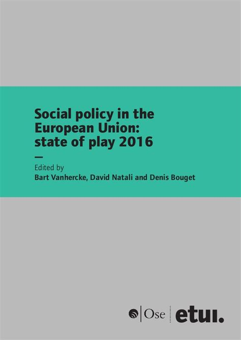 standard social policy in europe and the united states books social policy in the european union 2016 en