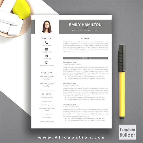 free word resume template download browse creative resume templates word free free