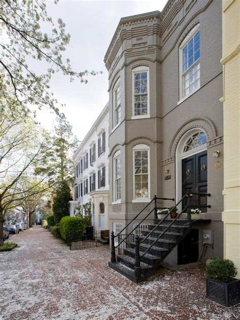 row house vs townhouse historic d c townhouse gets a modern update andreas