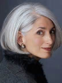 haircuts for thick gray hair hairstyles on pinterest gray hair over 50 and older women