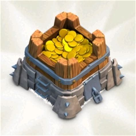 Clash Of Clans Gold Storage image gold storage8 jpg clash of clans wiki