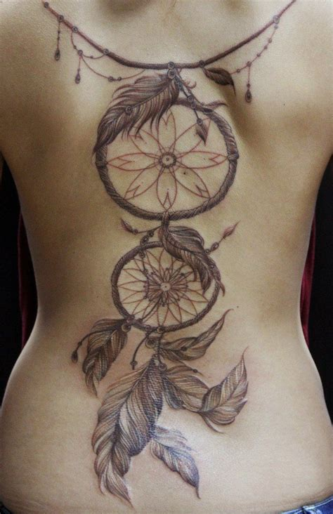 dream catcher tattoo on back catcher back if i wanted all back id