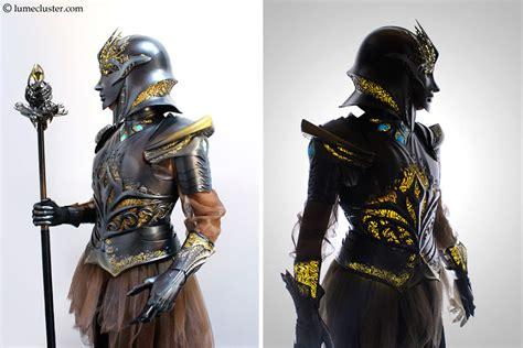 printed internally lit fantasy armor