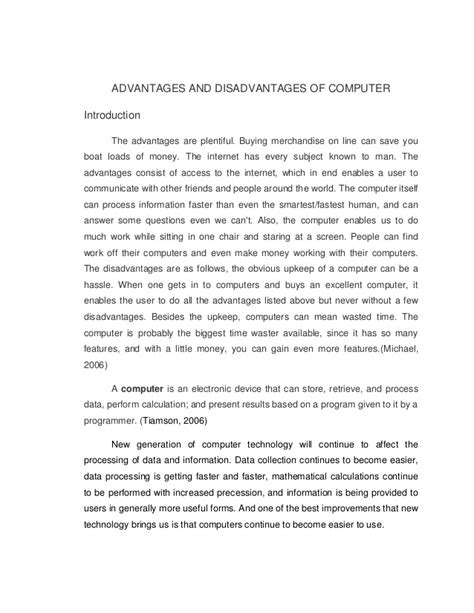 Argumentative Essay On Computers by Essay On Computer Technology Argumentative Writing Are We Dependent On Computers Gcse