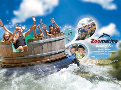 theme park portugal ticket for zoomarine theme park algarve portugal