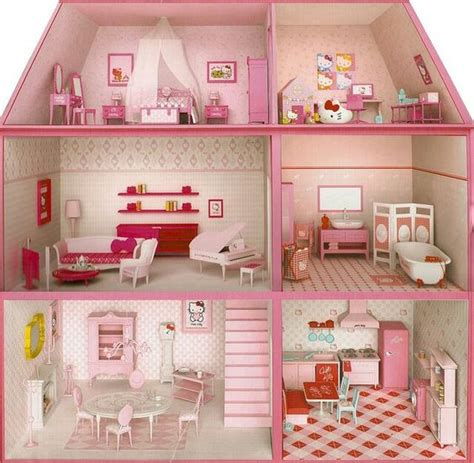 hello kitty doll house hello kitty play house jordyn would love this jordyn pinterest play houses