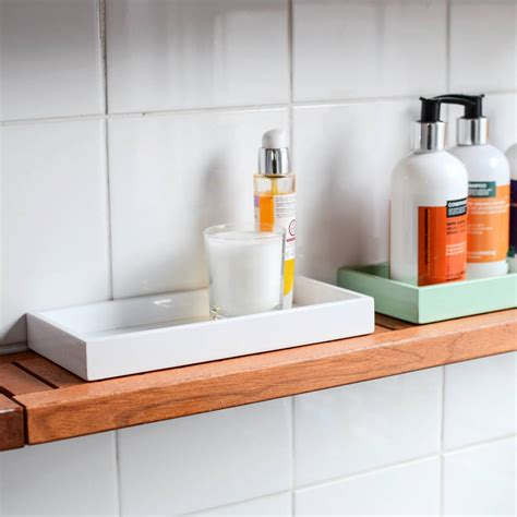 tray bathroom mini lacquer bathroom kitchen tray by nom living