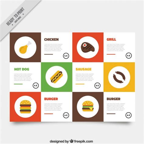 burger menu template burger menu template vector free