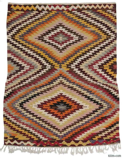 turkish kilim rugs k0010418 multicolor vintage turkish kilim rug
